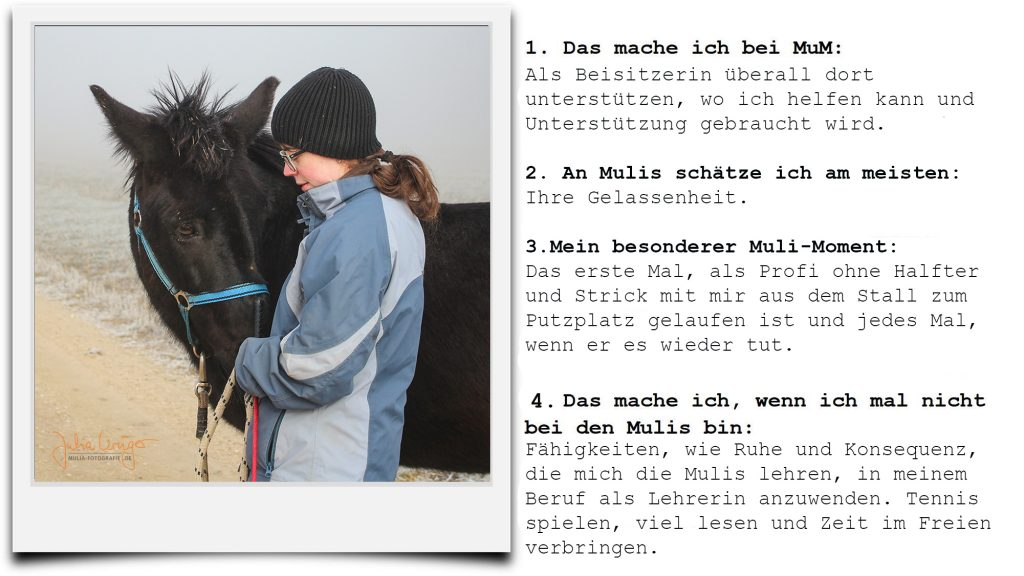 Motivation Melanie zu MuM
